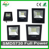 Hottest Real Power 10-200W SMD5730 Slim Black LED Floodlight