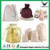 Promotional Custom Printed Large Travel Cotton Canvas Drawstring Laundry Bag