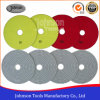 150mm Diamond White Wet or Dry Polishing Pad for Polishing Stone
