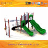 Outdoor Playground Equipment with Challenge Ladder