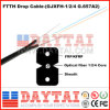 Indoor Fiber Optic Drop Cable FTTH Drop Cable with Steel Wire