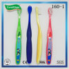 Kids' Dental Care Nylon Filament Toothbrush with Carton Stamped Handle