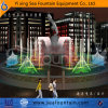 Color Changing Lamp Music fountain with Sculpture