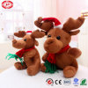 Xmas Sitting Moose Best Mascot Gift Soft Plush Stuffed Toy