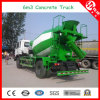 6m3 Cement Truck Mixer for Construction Machinery