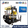 Self -Propelled Mobile Borehole Drilling Rig