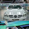 Tsautop 1.52*30m Glossy Car Wrap Film with Air Channel&Gf05