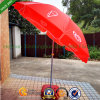 Walls Windproof Promotional Advertising Sun Outdoor Beach Umbrella Parasol with Tilt (BU-0048TW)