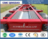 Cimc ISO 3 Axles Skeleton Container Truck Semi Trailer Truck Chassis