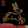 Outdoor LED 2D Reindeer Motif String Light Christmas Decoration for Street
