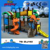 Dinosaur Series Plastic Playground Plastic and Metal Part Outdoor Playground Type