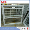 Popular UPVC Glass Window Grill Design in China