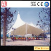 PVC PVDF PTFE Tensile Membrane Constructuon High Strength Windproof Canopy Cover
