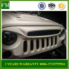 ABS Matte Black Ghost Grille for Jeep Wrangler 2007-2017