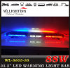 LED Caution Lightbar Red White Blue