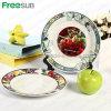 Freesub Funny Sublimation DIY Ceramic Dinner Plate (CY10A)
