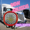 Promotion! 4X4 Heavy Duty Offroad Vehicles Arb Intensity Car Accessories 96W LED Work Light Bar Spot Light 9 Inch 96W LED Driving Light