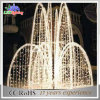 LED Christmas Fountain Lights Christmas Outdoor Decorations and Lighting
