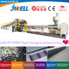 Jwell-PP HDPE Plastic Geogird Recycling Making Extruder Machine Used in Inrrigatin Highway Railway Mine and Building Project
