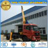 Dongfeng 4X2 Telescopic Crane Mounted on 10 Tons Cargo Truck