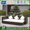 Garden Patio Rattan Outdoor Lounge Offce Hotel Home Sofa with Polywood Table (TG-JW42)