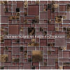 GPS07 Mixed Blend Multi Size Glass & Stone Series Mosaic Tile