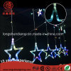 Colorful Christmas LED Star Lights Curtain Light String for Ramadan Outdoor Decoration