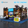 Electric 6dof Motion Platform Simulator 9d 7D 5D Cinema Equipment
