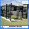 Customized Ornamental Backyard Security Black Aluminum Fence Panel