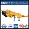 Cimc Tri-Axle 40FT Skeleton Container Skeleton Trailer