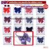 School Tie School Scarf Satin Silk Formal Pure Color Neckerchief Womens Bow Tie (B8112)