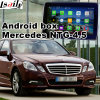 Android GPS Navigation Interface for Mercedes Benz C Cla Clk B a E Ml Glk Gla Ntg4.5 Update Touch Navigation Video Play WiFi Mirrorlink Google Map