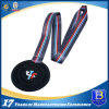 Customized Dyed Black Sports Promotional Medal Medallion