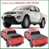 Hot Sale Soft Folding Tonneau Cover for Truck for Mitsubishi L-200 Triton Xb 2012