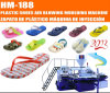 Disc Type Plastic Air Blowing Slippers/Sandals Making Machine