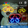Novelty Family Glow Stick Glasses Party Pack