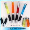 Logo Available Colorful Clip Ballpoint Pen with Triangle Design