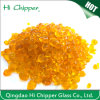 Yellow Colored Lampwork Glass Seed Beads