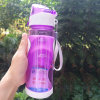 650ml Plastic Leak-Proof Water Bottle with Cover Lip