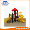 Children Excellent Mini Style Outdoor Plastic Playground Tube Slide