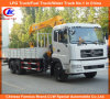 6*4 Dongfeng 8tons 12tons 16tons XCMG Timber Loading Crane