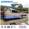 China 100t Bridge Crane Lowbed Lowdeck Trailer for Sales