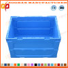 Plastic Foldable Vegetable Transport Containers Basket Box (ZHtb26)
