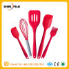 FDA Approved Silicone Cooking Tools Silicone Kitchen Utensils Set (5 Piece) in Hygienic Solid Coating