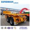 20FT Flatbed Container Front Lifting Tipper Dumper Trailer