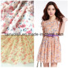 100% Polyester Printed Chiffon for Lady Dress Fabric