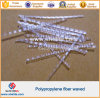 PP Polypropylene Undee Waved Fiber for Concrete Cement Floor Wall Cement Board Construction