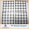 2020kn Plastic PP Biaxial Geogrid for Retaining Wall