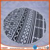 Custom Print Microfiber Soft Mandala Beach Towel Round with Tassels