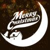 New Merry Christmas Window Sticker